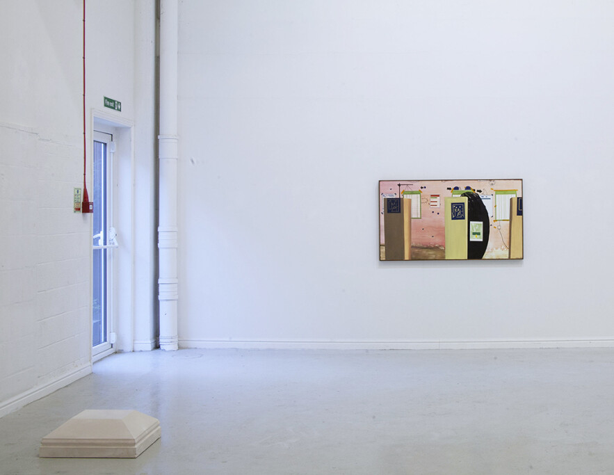 left: Bernice Donszelmann  'Base: two quotations'; right: Jesse Ash 'Openly Mark a Turning Point (2)'